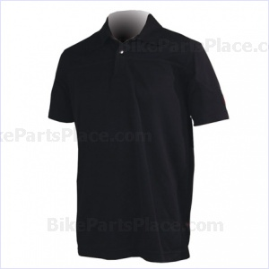 Jersey Polo Pony Short-Sleeve Black