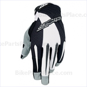Gloves Terrain White Back