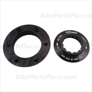 Disc Brake Rotor Adapter - Centerlock to 6 Bolt (splined rotor mounts)