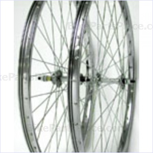 Clincher Front Wheel - 24 x 1 3/8 inches