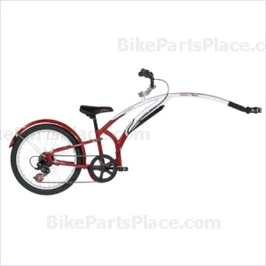 Trailer Bicycle - Shifter BurgundyCharcoal