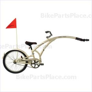 Trailer Bicycle - Alloy Granite Pewter