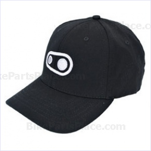 Cycling Cap Crank Brothers Logo Black