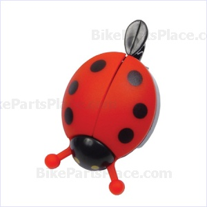 Bell - Ladybug Red
