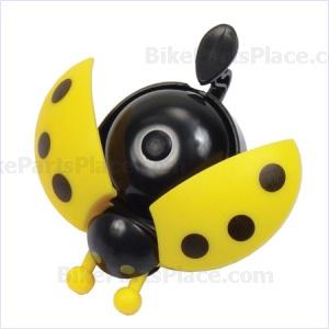 Bell - Ladybug Yellow