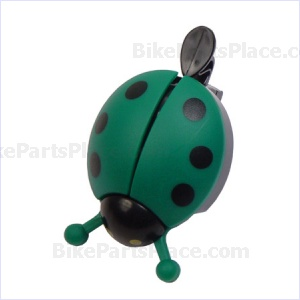 Bell - Ladybug Green