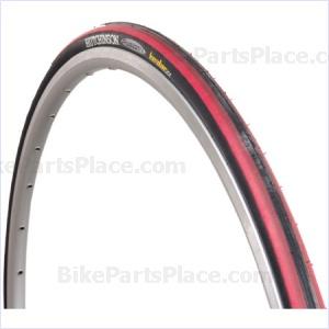 Clincher Tire Fusion 2 Black/Wine Red/Red
