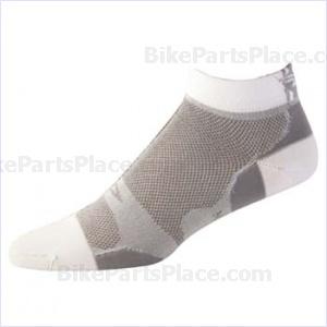 Socks Levitator Lite Low Gray/White