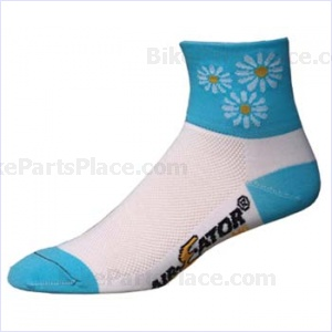 Socks - Ait-E-Ator Daisy Duke Blue-White Small