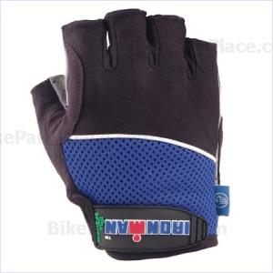Gloves - Pro Lycra Blue Black