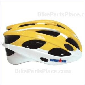 Helmet - Pro Ironman YellowWhite
