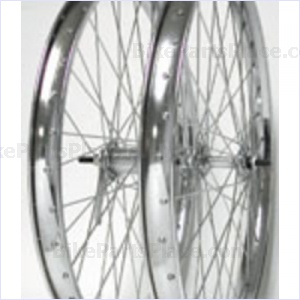 Clincher Front Wheel - 24 x 2.125 inches