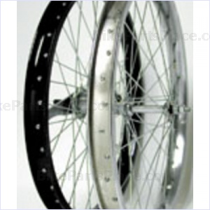 Clincher Rear Wheel - 20 x 1.75 inches