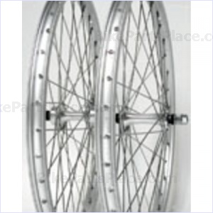 Clincher Front Wheel - 20 x 1 3/8 inches