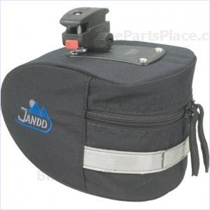 Seat Bag - Mountain Wedge I with Klickfix Black