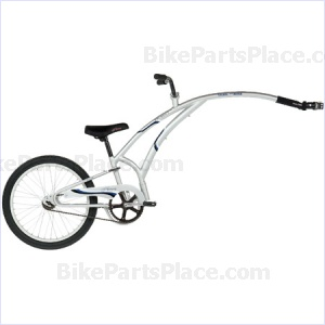 Trailer Bicycle Silver