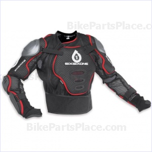 Chest Protector - Pressure Suit BlackRed