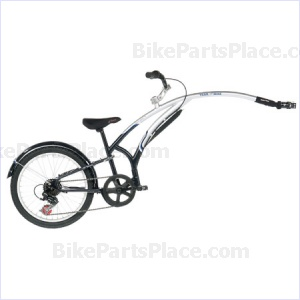 Trailer Bicycle - Shifter BluePewter